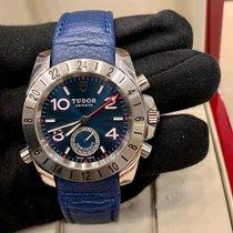 Tudor Sport Aeronaut Aço Azul