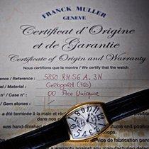 Franck Muller 5850 RM S6 A Sehr gut Gelbgold 44mm Automatik