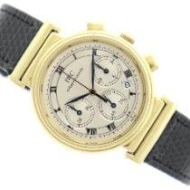 IWC Желтое золото Кварцевые Cеребро 32mm подержанные Da Vinci Chronograph
