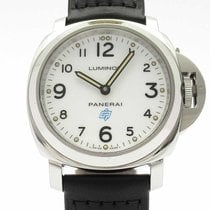 Panerai Luminor Base Logo Acero 44mm Blanco