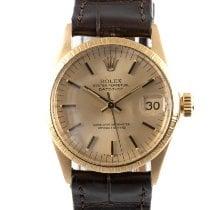 Rolex Lady-Datejust 6632 Zeer goed Geelgoud 30mm Automatisch