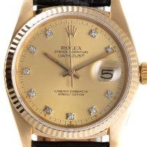 Rolex Datejust Geelgoud 35mm Goud