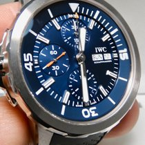 IWC Aquatimer Chronograph Steel 44mm Blue United States of America, North Carolina, Winston Salem