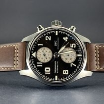 IWC IW387806 Steel Pilot Spitfire Chronograph 43mm new