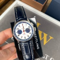 Breitling for Bentley Steel 42mm Silver Arabic numerals United Kingdom, Beaconsfield