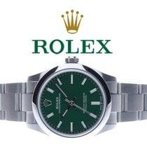 Rolex Oyster Perpetual 31 Stahl 31mm Grün Keine Ziffern Deutschland, Essen