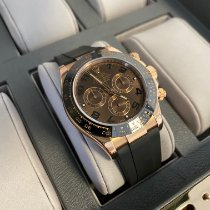 Rolex Daytona Rose gold 40mm Brown