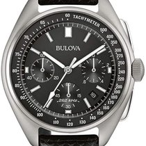 Bulova Lunar Pilot Steel 45mm Black No numerals United States of America, New York, New York