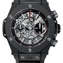 Hublot Big Bang Unico Cerámica 45mm Transparente Arábigos