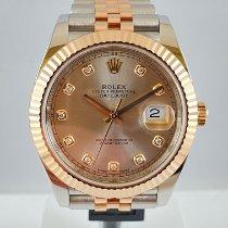 Rolex Datejust II 126331 Odlično Zlato/Zeljezo 41mm Automatika