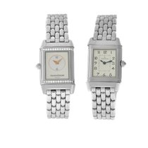 Jaeger-LeCoultre Reverso Duetto Steel 21mm White Arabic numerals United States of America, New York, New York