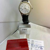 IWC gebraucht Automatik 39mm Weiß Saphirglas