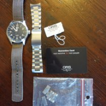 Oris Big Crown ProPilot GMT Steel 45mm Black Arabic numerals United States of America, Texas, Dripping Springs