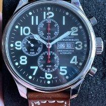 Zeno-Watch Basel Stahl 47mm Automatik 8557TVDD gebraucht Deutschland, Karlsfeld