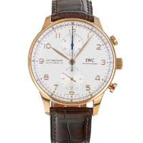 IWC Portuguese Chronograph Rose gold 41mm Silver Arabic numerals United States of America, Maryland, Baltimore, MD