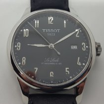 Tissot Le Locle Steel 39.3mm Black Arabic numerals United States of America, Massachusetts, Swampscott
