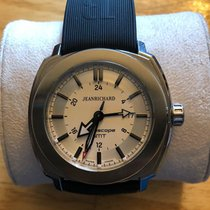JeanRichard Steel 44mm Automatic 60500-11-401-11A pre-owned United States of America, Colorado, Black Hawk