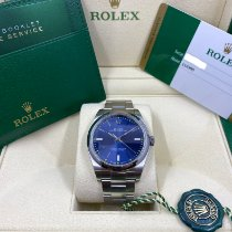Rolex Oyster Perpetual 39 Steel 39mm Blue No numerals United States of America, Pennsylvania, Douglassville