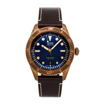 Oris Carl Brashear Bronze 42mm Blue No numerals United States of America, Pennsylvania, Bala Cynwyd