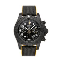 Breitling Automatic Black Arabic numerals 45mm pre-owned Avenger Hurricane