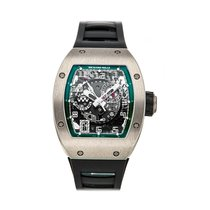 Richard Mille White gold Automatic 48mm pre-owned RM 010