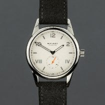 NOMOS Club Campus Steel 38mm White Arabic numerals