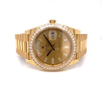 Rolex Day-Date 40 Yellow gold 40mm Gold No numerals United States of America, California, Beverly Hills