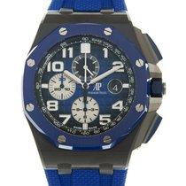 Audemars Piguet Céramique Remontage automatique Bleu Arabes 44mm nouveau Royal Oak Offshore Chronograph