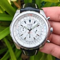 Breitling Bentley Motors Steel 48mm White No numerals