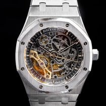 Audemars Piguet Royal Oak Double Balance Wheel Openworked Staal Grijs