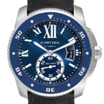 Cartier Calibre de Cartier Diver Steel 42mm Blue Roman numerals United States of America, Georgia, Atlanta