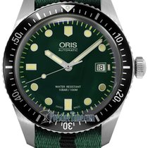 Oris Divers Sixty Five Steel 42mm Green United States of America, New York, Airmont