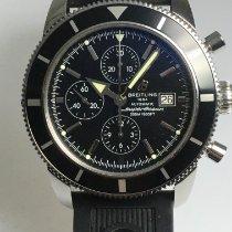 Breitling Superocean Heritage Chronograph Stahl 46mm Schwarz Keine Ziffern Deutschland, Herrieden