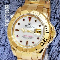 Rolex Yacht-Master pre-owned 40mm White Yellow gold
