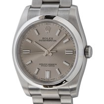 Rolex Oyster Perpetual 36 pre-owned 36mm Silver
