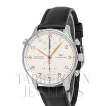 IWC IW371201 Steel Portuguese Chronograph 41mm pre-owned