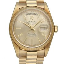 Rolex 18038 Yellow gold 1985 Day-Date 36 36mm pre-owned United States of America, New York, New York