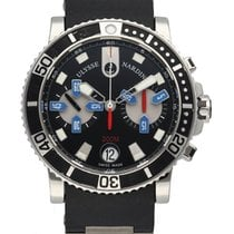 Ulysse Nardin Maxi Marine Diver Steel 43mm Black United States of America, New York, New York