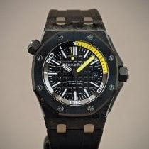 Audemars Piguet Royal Oak Offshore Diver Carbon 42mm Black No numerals