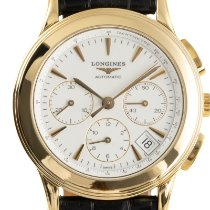 Longines Yellow gold 39mm Automatic L4.718.6 pre-owned