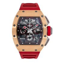 Richard Mille RM 011 RM011-FM Very good Rose gold 50mm Automatic
