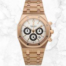 Audemars Piguet Royal Oak Chronograph neu 2018 Automatik Chronograph Uhr mit Original-Box und Original-Papieren 25960OR.OO.1185OR.02