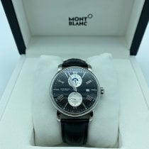 Montblanc 4810 Steel 42mm Black Roman numerals