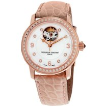 Frederique Constant Ladies Automatic Heart Beat Steel 34mm Mother of pearl Arabic numerals United States of America, New Jersey, Somerset