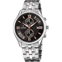 Festina Steel 42mm Quartz F6854/7 new