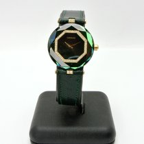 Century Yellow gold Quartz Green 28,5mm pre-owned