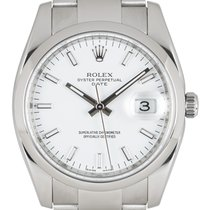 Rolex Oyster Perpetual Date Steel 34mm White United Kingdom, London