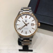TAG Heuer Carrera Calibre 5 Goud/Staal 39mm Zilver Nederland, Amsterdam