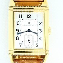 Jaeger-LeCoultre Yellow gold 26mm Manual winding 270.140.622 B Jaeger-LeCoultre Reverso 750er/18K Gelbgold Lederband pre-owned