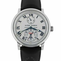 Ulysse Nardin Marine 263-22M-7 /30GR Good Steel 38mm Automatic